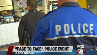 Cape Coral police department builds community relationships - Video