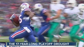 The 17-year-long playoff drought - Video