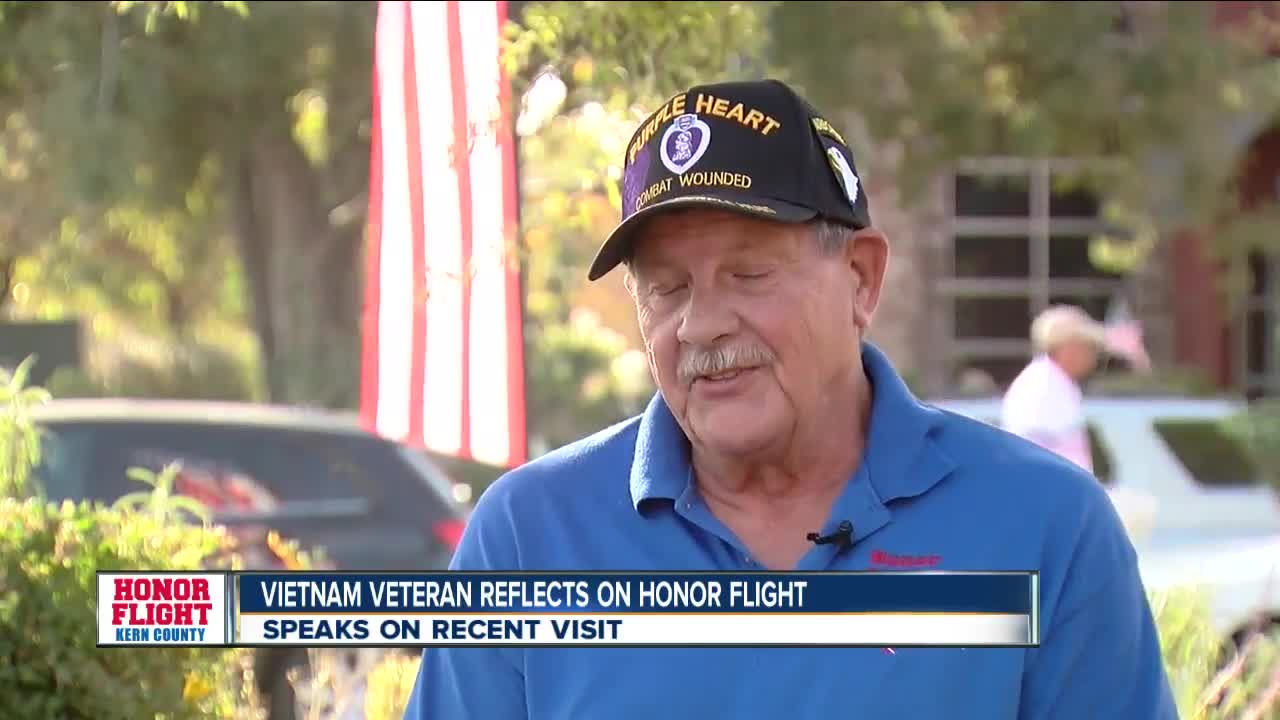 Local Vietnam veteran reflects on Honor Flight Experience
