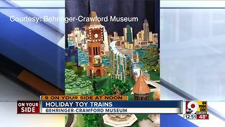 Holiday Toy Trains and Wahoo's Winter Wonderland at the Behringer-Crawford Museum