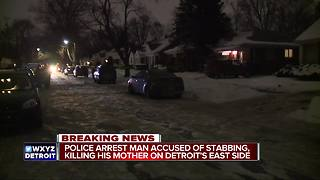 Deadly stabbing on Detroit's east side - Video