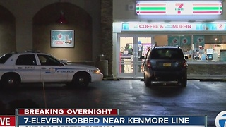 Three 7-Eleven stores robbed overnight - Video