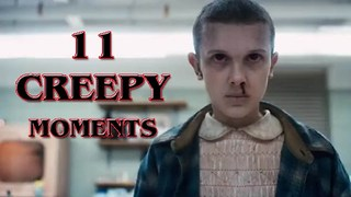 Stranger Things Top ELEVEN Creepy Moments - Video