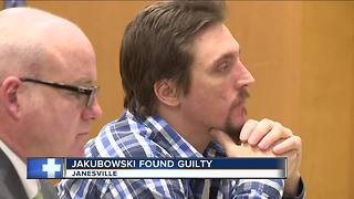 Jakubowski found guilty, could be sentenced to 24 years
