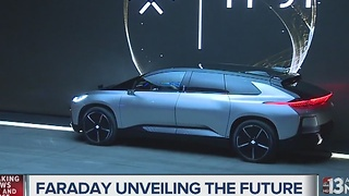 Faraday Future unveils production car at CES - Video