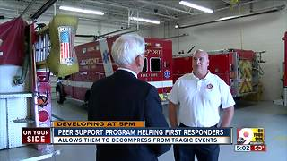 How first responders cope with traumatic experiences