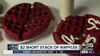 Get waffles around the Valley for a great price! - Video