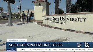 SDSU pauses in-person classes