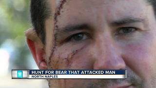 Hunt for Bear that Attacked Man - Video