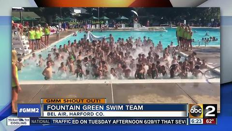 Fountain Green Swim Team GMM Shoutout