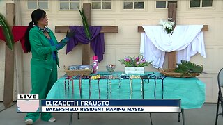 Local resident makes masks for community