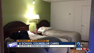 A School Counselor cares: Helping a homeless Harford County family