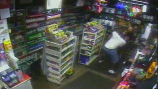 Detectives searching for robbery suspect stabbed by Sunoco gas station clerk