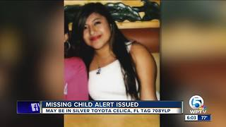 Florida missing child alert issued for 16-year-old girl from Miami