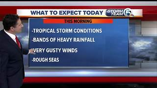 Updated Monday morning forecast - Video