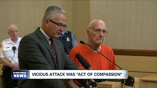 Vicious attack was 'act of compassion' - Video