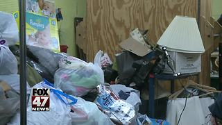 Donations trashed outside non-profit store in Jackson