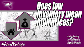 Does low inventory mean higher prices? | Real Estate Prices