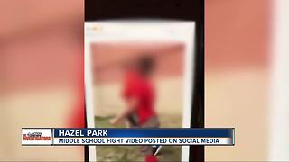 Video of disturbing fight at metro Detroit middle school posted on social media - Video