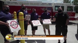 Fuccillo's Feeding the Front Lines at the Grand island Police and Fire Station