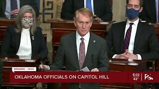 Oklahoma officials on Capitol Hill