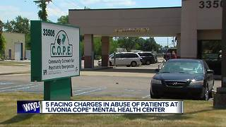 Workers at Livonia facility charged with abuse of 3 mental health patients - Video