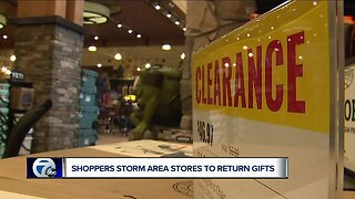 Shoppers head to stores after Christmas for deals, exchanges and to spend gift cards