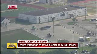 Active shooter incident at Santa Fe High School in Texas: School district