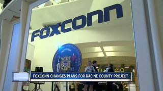 Foxconn changes focus of massive Wisconsin project