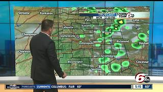 Cooler and less humid start to the week - Video