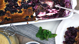 Delicious blueberry cobbler recipe - Video