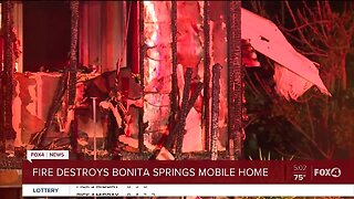 Fire destroys Bonita Springs home