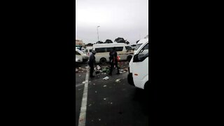 WATCH: Metro Police sweep away refuse in uMlazi following protest (KTx)