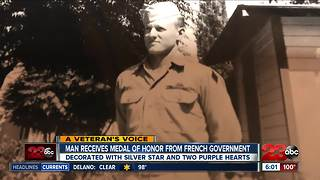 Local veteran honored for service during Normandy in WWII - Video