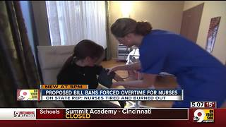 Proposed bill bans forced overtime for nurses - Video