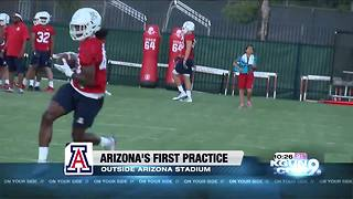 UA Football beings fall camp under Kevin Sumlin - Video
