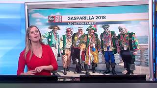 Gasparilla 2018: Traffic, road closures, parade route and more - Video