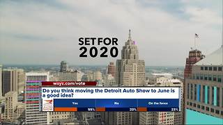 Do you think moving the Detroit Auto Show to June is a good idea?