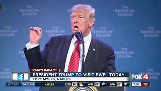 President Trump set to visit Southwest Florida Thursday