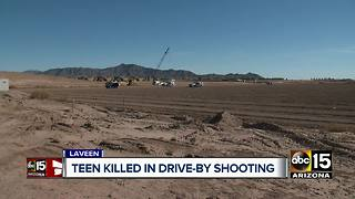 Teen killed in Laveen drive-by shooting - Video
