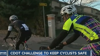 CDOT Challence to keep cyclists safe - Video