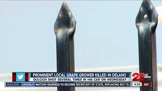 Prominent grape grower killed - Video