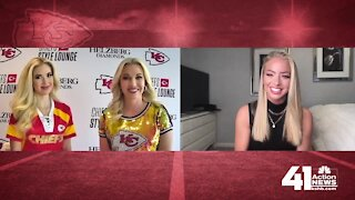 Tavia and Gracie Hunt talk Chiefs Style Lounge
