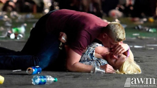 Photo Of Heroic Army Soldier Saving Lives in Las Vegas Goes Viral - Video