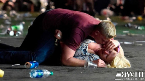 Photo Of Heroic Army Soldier Saving Lives in Las Vegas Goes Viral