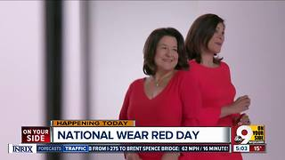 Friday is National Wear Red Day to promote women's heart health