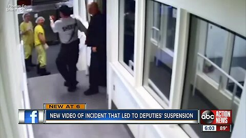 Jail surveillance video released in Pinellas County guard inmate intimidation case