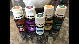 Cold Capsules with Essential Oils