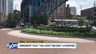 Immigrant beaten and attacked by this racist man in Cleveland - Video