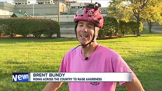 Breast cancer awareness ride